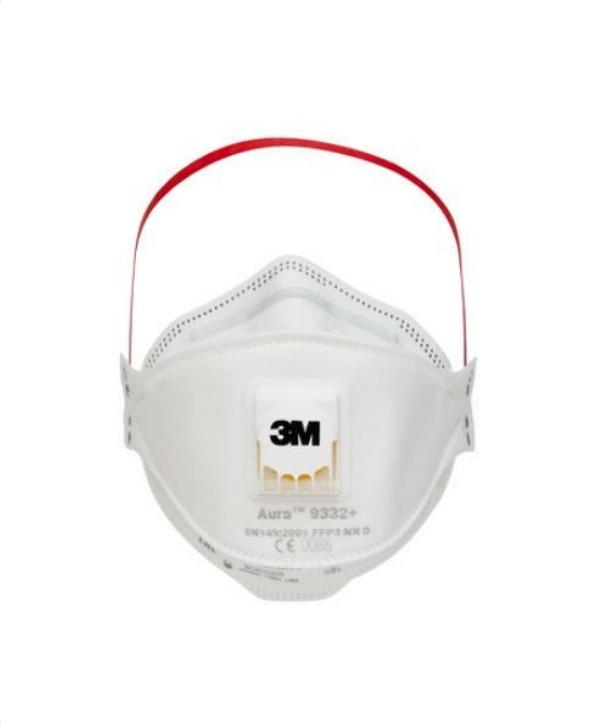 3M™ Aura™ Légzésvédő maszk, FFP3 szelepes 9332