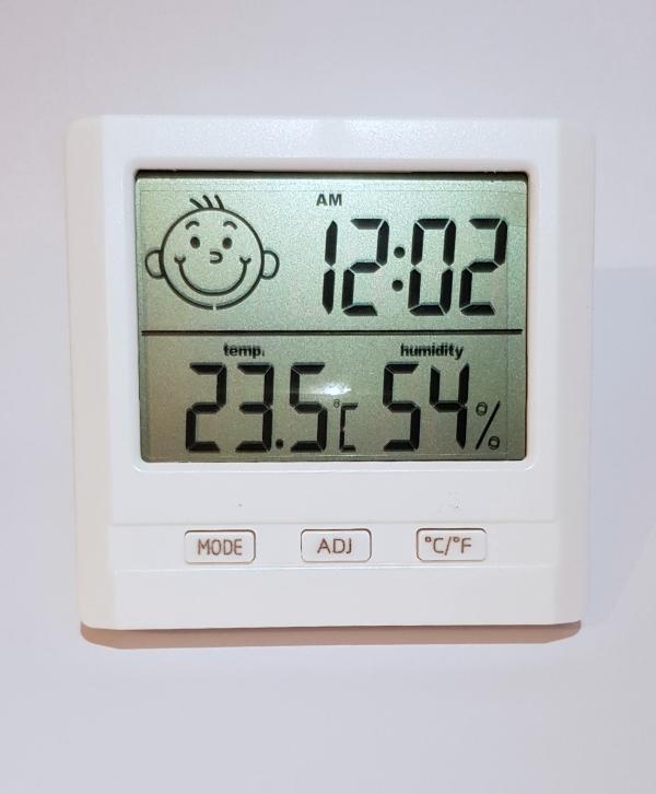 Hő- és Páratartalom-mérő
