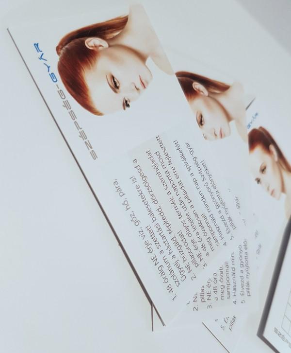 Időpontkártya Utóápolási tanácsokkal